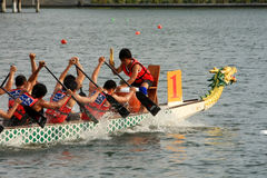 Malaysia-Drachebootsfestival 2011 Stockfotos