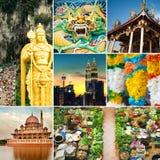Malaysia dragningar royaltyfri fotografi