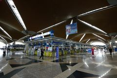 KLIA-flygplats Royaltyfri Bild