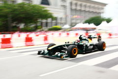 Malaysia F1 Grand Prix 2011 Putrajaya Race Demo Stock Photo