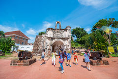 Malaysia - 11 Febuary 2017 :: A' famosa fort place to visit in Royalty Free Stock Photos
