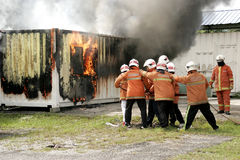 Malaysia Fire Awareness and Safety Day Stock Images