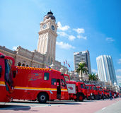 Malaysia Fire Fighters Day Celebrations 2011 Stock Photo