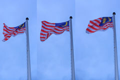Malaysia Flag Royalty Free Stock Photography