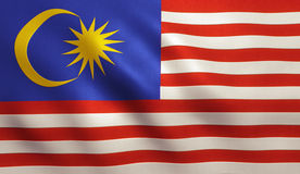 Malaysia Flag Stock Images