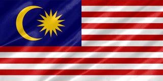 Malaysia Flag stock photo