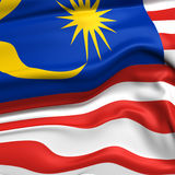 Malaysia  flag picture Stock Images