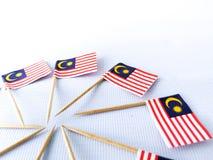 Malaysia-Flaggen Lizenzfreie Stockbilder