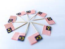 Malaysia-Flaggen Lizenzfreie Stockfotografie