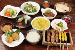 Malaysia Food. Fast food,rice Stock Image