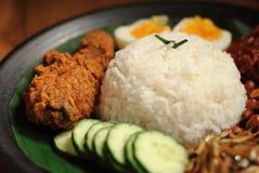 Malaysia food nasi lemak Stock Photos