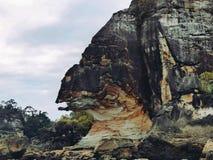 Malaysia - Gorilla Rock på Borneo royaltyfri bild