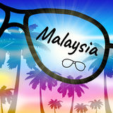 Malaysia Holiday Indicates Go On Leave And Getaway Stock Photography