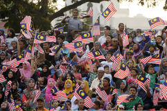 Malaysia Independence day 58th Royalty Free Stock Photos