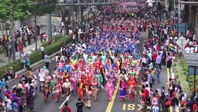 Malaysia Independence Day 57th stock video