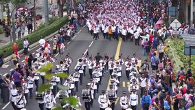 Malaysia Independence Day 57th stock footage