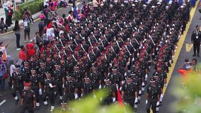 Malaysia Independence Day 57th stock video footage