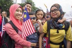 Malaysia Independence Day 57th Stock Photos