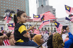Malaysia Independence Day 57th Royalty Free Stock Photography