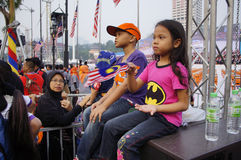 Malaysia Independence day 58th Stock Photography