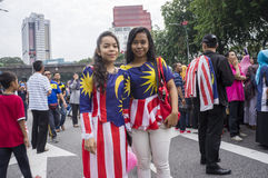 Malaysia Independence Day 57th Royalty Free Stock Photo