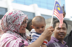 Malaysia Independence day 58th Royalty Free Stock Photography