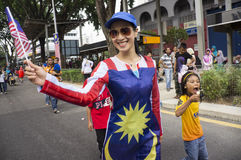 Malaysia Independence Day 57th Stock Image
