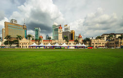 Malaysia Independence Square with panorama view. Stock Photos