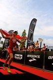 Malaysia Iron man 2014 on the final home run to the finish Royalty Free Stock Photo