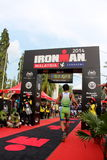 Malaysia Iron man 2014 on the final home run to the finish Stock Images
