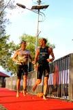 Malaysia Iron man 2014 running from the swim Stock Photos