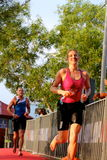 Malaysia Iron man 2014 running from the swim Royalty Free Stock Images