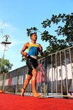 Malaysia Iron man 2014 running from the swim Royalty Free Stock Image
