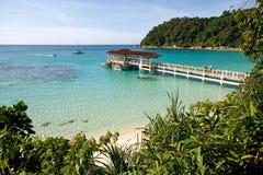 malaysia jasne krystaliczne wody Zdjęcie Royalty Free