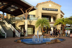Malaysia Johor Premium Outlet Boutique Centre stock images