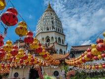 Malaysia - kinesiska lampor fotografering för bildbyråer
