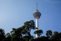Malaysia KL Tower Royalty Free Stock Photography