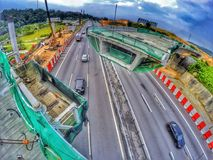 Malaysia konstruktion Arkivbilder