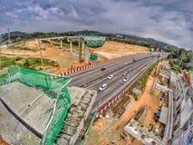 Malaysia konstruktion Royaltyfri Bild