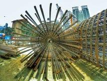 Malaysia konstruktionsfotografi Arkivbild