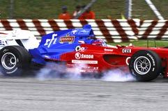 Malaysia, Kuala Lumpur: A1 automobile race 2006 in Royalty Free Stock Photos