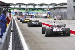 Malaysia, Kuala Lumpur: A1 Autorennen 2006 Zoll lizenzfreie stockfotos
