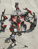 Malaysia, Kuala Lumpur: A1 Autorennen 2006 Zoll lizenzfreie stockfotografie