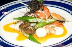 Malaysia  Kuala Lumpur: Culinary; seafood Royalty Free Stock Photography