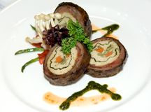 Malaysia  Kuala Lumpur: Culinary; Sirloin Royalty Free Stock Photo