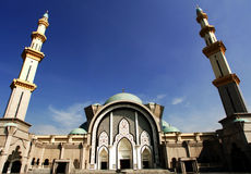 Malaysia, Kuala Lumpur: Mosque stock photo