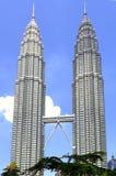 Malaysia, Kuala Lumpur: Petronas-Kontrolltürme Stockbild
