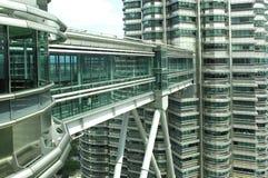 Malaysia, Kuala Lumpur: Petronas towers Royalty Free Stock Photo