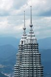 Malaysia, Kuala Lumpur: Petronas towers Royalty Free Stock Photography