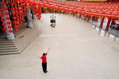 Malaysia Kuala Lumpur Thean Hou Temple Stockfotografie